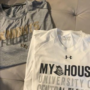 UCF PARTY BUNDLE!! 2 Athletic Shirts